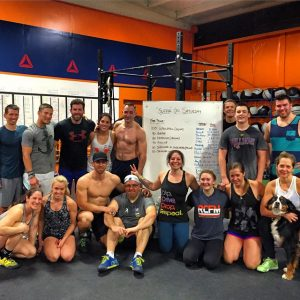 After a grueling workout with some of the amazing folks I train with every day at Reebok CrossFit Medfield...